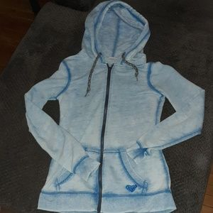 ROXY zip up hoodie! Size medium